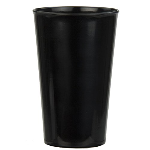 Home Basics Melamine Dinnerware (Tumbler, Black)