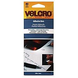Bulk Buy: Velcro Velcro Adhesive Dots 80/Pkg-Removable 9139-