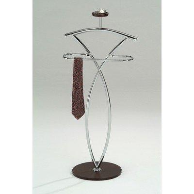 InRoom Designs Wood and Metal Suit Valet Stand by InRoom Designs