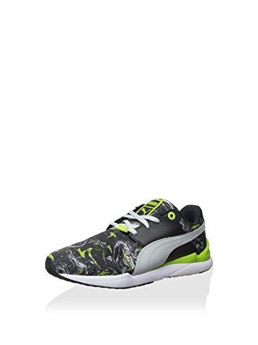 Puma Mens Framtida Trinomic Snabb Marmor Lx Svart / Grå Sneaker 13m