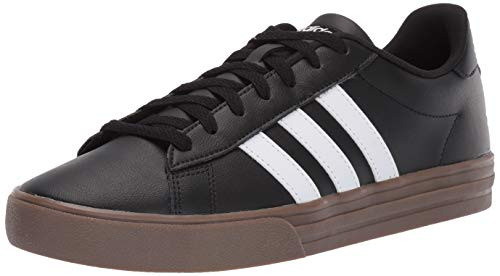adidas Men's Daily 2.0, Black/White/Gum 8 M ()