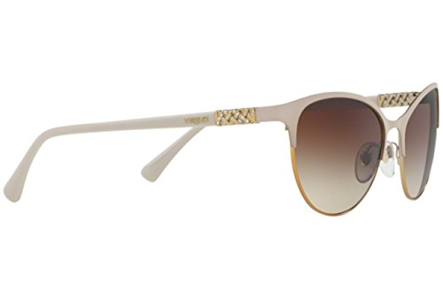 Beige 0Vo4058Sb Vogue Matte 56 para Sol Mujer Gold de Pale Gafas dprHqOp0