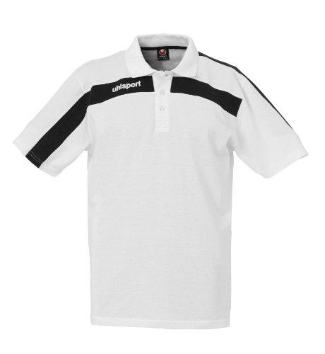 Polo de manga corta del uhlsport Blanco - blanco / negro