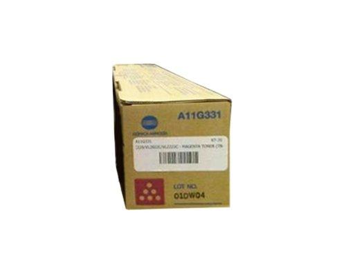 Konica Minolta Part # TN-216M OEM Magenta Toner Cartridge - 26,000 Pages (A11G331) by Konica-Minolta ()
