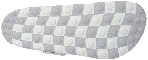 CCILU Sandal White Flat Puzzle m Sandal Men's Cq6pCf8