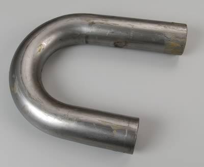 Husler Hedders 12061 Husler Hedders Mandrel Bend 180 deg. Bends Tube Size 2.5 in. 4 in. Radius 7.5-11 in. Leg Length Husler Hedders Mandrel Bend
