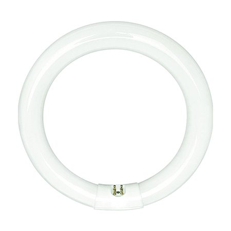 FC6T9/CW - 20 Watt - T9 Circline Fluorescent Tube - 6 in. Diameter - 4100K - GE 42732