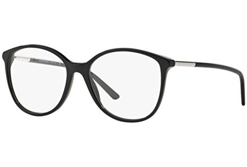 Burberry BE2128 Eyeglass Frames 3001-5216 - Black ()