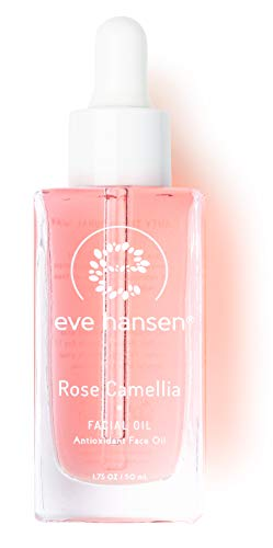 Eve Hansen Skin Moisturizer Face Oil | 1.7 oz Antioxidant Rich Anti-Aging Oil Blend with Rose Oil, Camellia Oil, Vitamin E and Grapeseed Oil | Pore Minimizer, Scar Treatment and Dark Spot Corrector ()