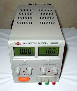 RSR Electronics 01HY3005D- Variable Linear Lab Power Supply, 0-30V, 0-5 Amp
