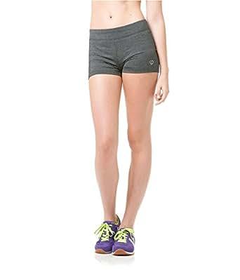 Aeropostale Womens Heathered Athletic Workout Shorts 058 XL