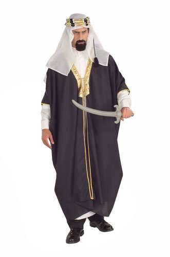 Arabian Costumes For Men (Forum Novelties Men's Arab Sheik Costume, Multi, Standard)