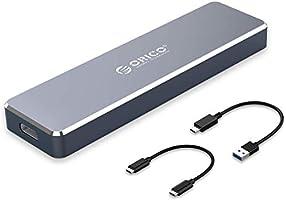 ORICO Aluminum M.2 NVMe SSD Enclosure, Ultra-Slim M-Key to USB3.1 Gen2 Type-C 10Gbps External Hard Drive Case, Storage...