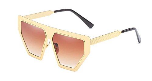 vintage métallique Gradients inspirées Thé de en soleil lunettes cercle de rond Lennon du polarisées retro style Pq1w0FRSw