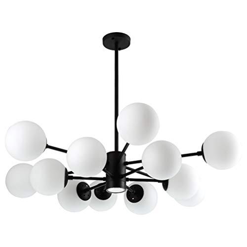 YJJL 12 Light Pendant Light Restaurant Chandelier Modern Atmosphere Ceiling Lighting Home Decoration Hanging Lamp Fixture