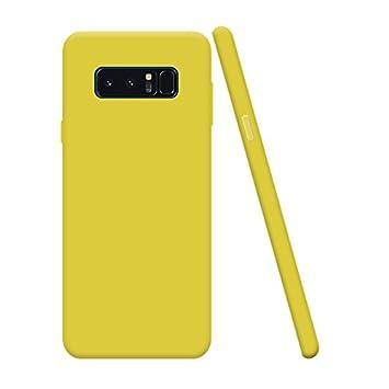 Silingsan Funda Samsung Galaxy Note 8, Funda Silicona Protectora Carcasa Candy Goma Cubierta Case Ultra Delgado Cover Protectora Anti Rasguños Case ...
