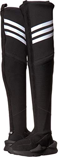 adidas Y-3 by Yohji Yamamoto Women's Kaiwa Boot Black/Black/Footwear White 6.5 M UK