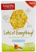Crackers Everything Gluten Free 5 OZ (Pack of 6) - Pack Of 6