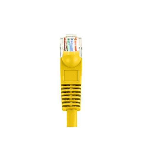 CAT5e U/UTP Snagless Patch Cords, Yellow - 75 ft.