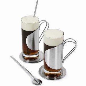 Sagaform 5002585 Glass Irish Coffee Set, 2-Pack by Sagaform