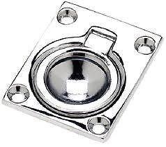 New Seachoice Flush Ring Pull-1 7/8X2 7/16 Scp 36681 - Seachoice Flush Ring Pull