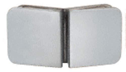 CRL Satin Chrome Traditional 135 Degree Glass Clamp