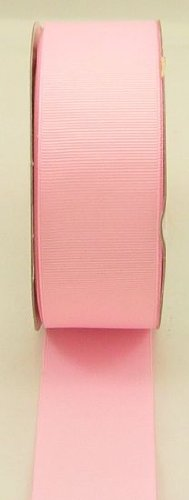 "Grosgrain Ribbon-3/8"" By 50yd-pink"