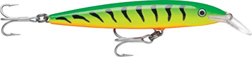 Rapala Floating Magnum 18 Fishing lure, 7-Inch, Firetiger