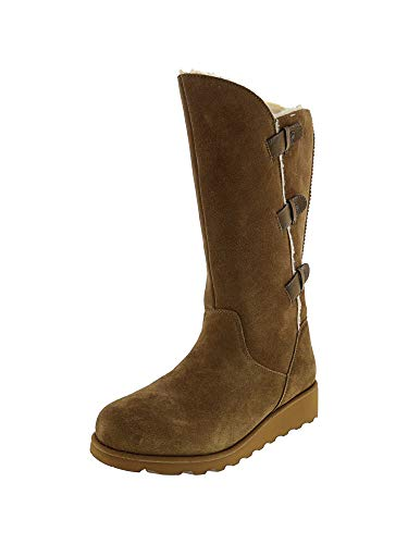 BearPaw Womens Hayden Winter Boot Hickory Size 8