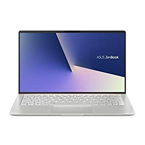 ASUS ZenBook 14 UX433FA-A6113T 14-inch FHD Thin and Light Laptop (8th Gen Intel Core i5-8265U/8GB RAM/256GB PCIe SSD/Windows 10/Integrated Graphics/1.19 Kg), Icicle Silver Metal