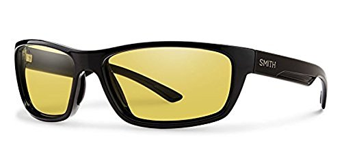 Smith Ridgewell Sunglasses Black / Techlite Glass Polarized Low Light Ignitor & HDO Cleaning Carekit - Sunglasses Hdo