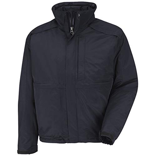 Red Kap Midnight The North Face And Horace Small Nylon With Primaloft Insulation Insulated 3-N-1 Jacket Jacket With Concealed Snap-Front Storm Flap