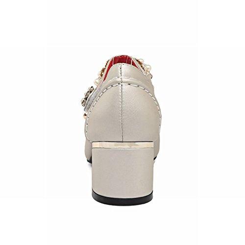 Charm Mee Strass Plateau Donna In Da Argento Con Shoes Tacco E 5wq4gf