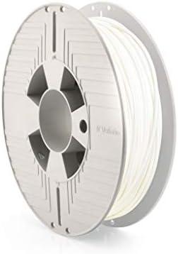 Verbatim Durabio - Filamento 3D (500 g, 2,85 mm), color blanco ...