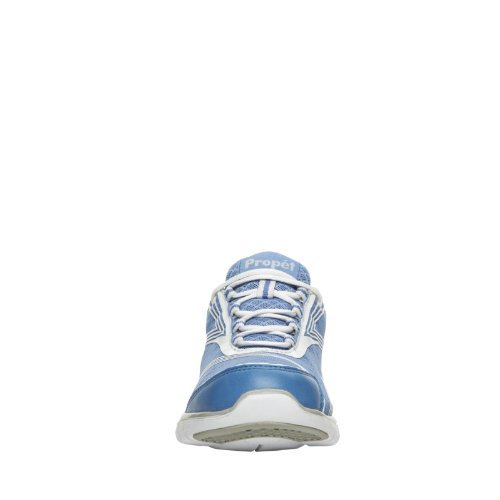 Propet Walking Womens Womens Blue Walking Travelite Propet Travelite Shoe Shoe vq1wS5f