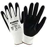 Radnor Medium Radnor 13 Gauge HPPE and Nylon Cut Resistant Gloves with Foam Nitirle Coating on Palm and Fingertips (28 Pairs)
