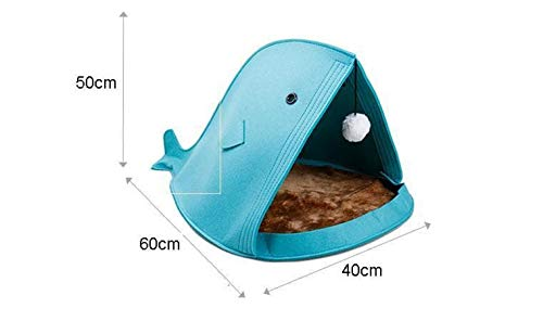Theworldoffeathers Pet Products Portable Foldable Outdoor Kitty or Dog House Shelter