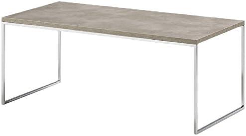 Kendo Mesa de Centro, Metal, Gris, 90x45x40 cm: Amazon.es: Hogar