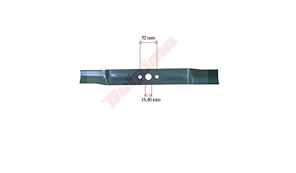 DOLPIMA AGROMA - Cuchilla para cortacésped (435 x 19, 4 x 52 MAX ...