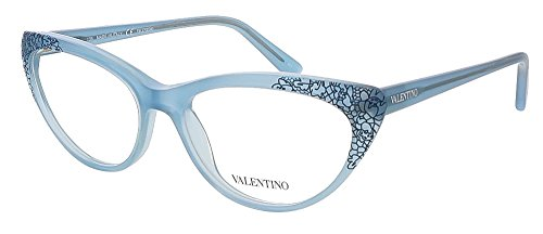 Valentino V2638 424 Blue Cat Eye Valentino Eyewear (Valentino Optical Frames)