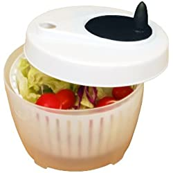 Excelsteel Cook Pro Inc Mini Salad Spinner, 1.4-Quart