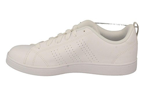 adidas Vs Advantage Cl K, Zapatillas DeDeporte Unisex Niños Blanco (Ftwbla/Ftwbla/Griuno)