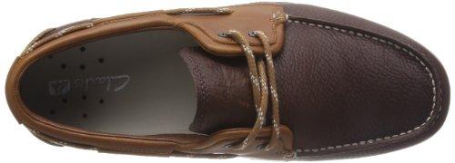 Clarks Orson Harbour - Botas de cuero para hombre marrón marrón One Size Fits All Marrón