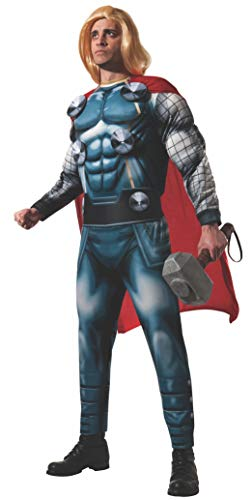 Kids Deluxe Thor Costumes - Rubie's Men's Marvel Classic Adult Deluxe