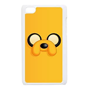 iPod Touch 4 Case White Jake The Dog Cell Phone Case Cover M7W9LM