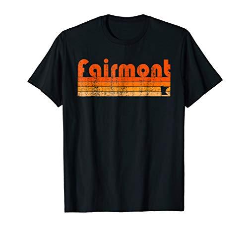 Retro 80s Style Fairmont  MN T-Shirt