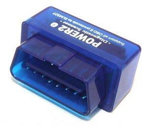 Goliton Bluetooth Supper Mini OBD 2 /Mini OBD II Compatible with Andriod Power 2-Blue