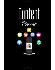 Content Planner: Designed Sections --Journal & Interview Storytelling Notebook Quote - Diary To Write In (110 Lined Pages, 6 x 9 in)