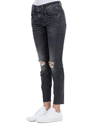 Noir Jeans Coton Femme R13W0086697 R13 zqx8wvW