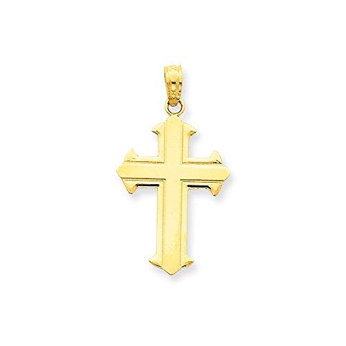 Quinn's Gold 14K Passion Cross Pendant (14k Passion Cross Pendant)